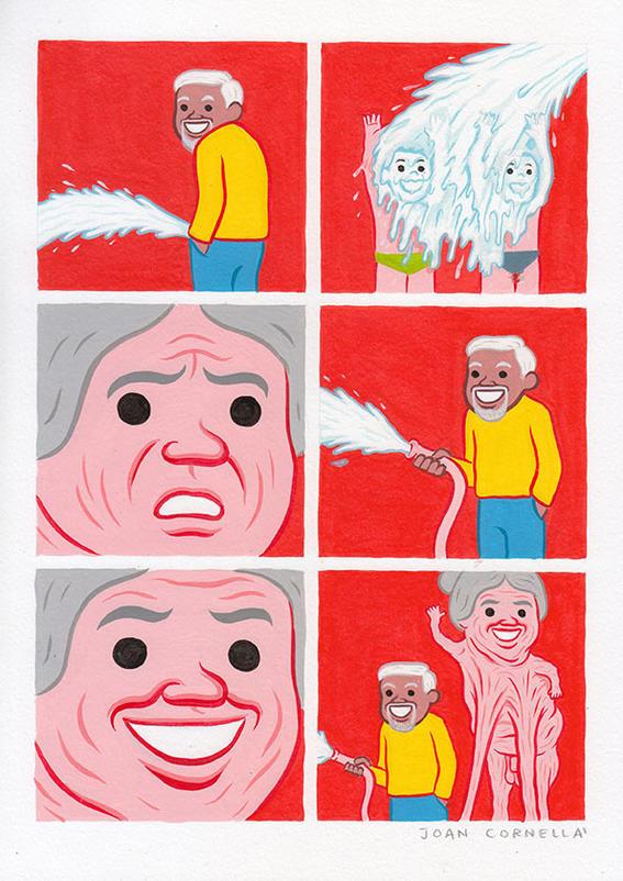 leche ilustraciones joan cornella
