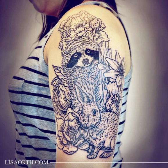 lisa orth tatuaje