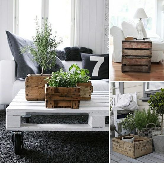 Ideas para tener un jardín en el interior de tu casa - Diseño