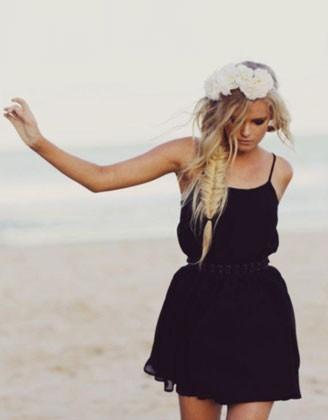Fotos tumblr de chicas vestidas de negro