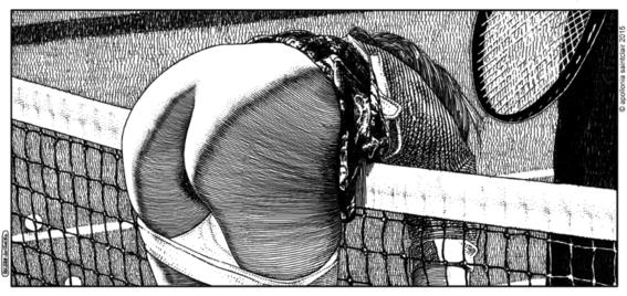 Apollonia Saintclair  ilustraciones sexuales