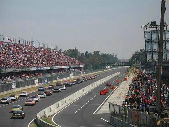 El autodromo Hermanos Rodriguez