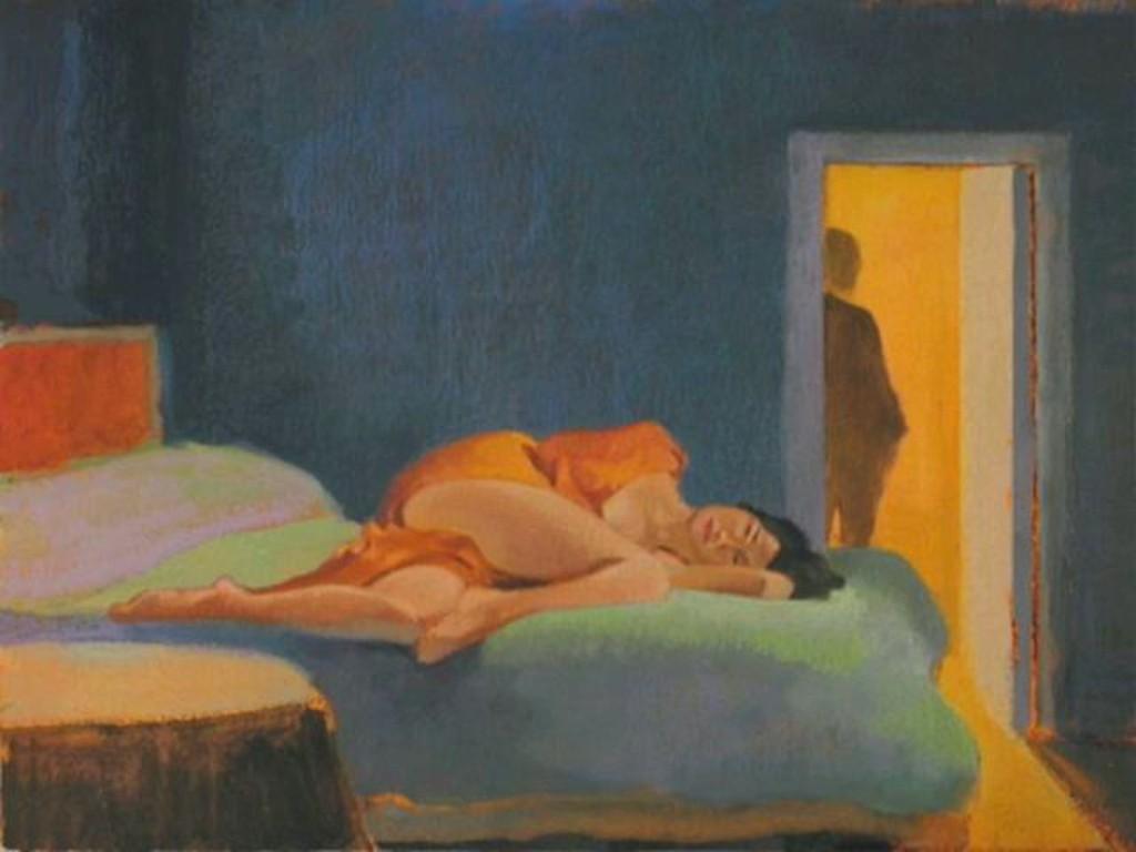 Nigel Van Wieck pintura mujer