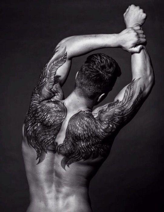 Hermosos Tatuajes En La Espalda Que Querrás Tener Diseño Diseño