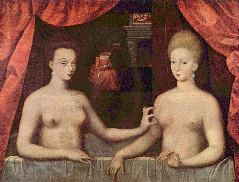 gabriell destrees y una de sus hermanas