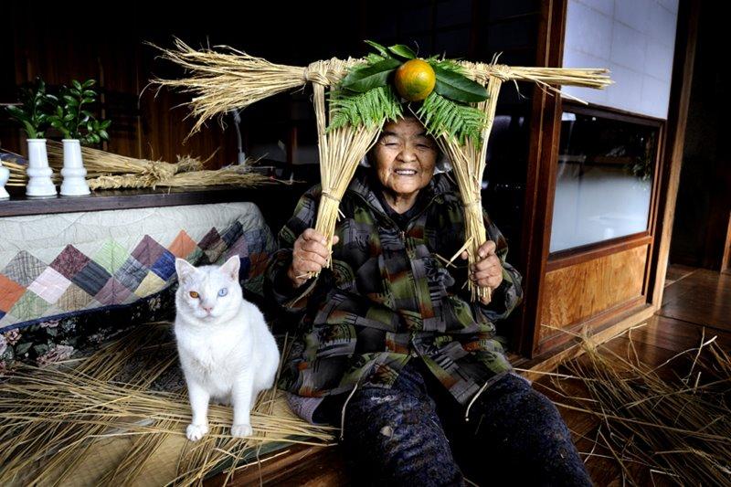 gato abuela miyoko ihara