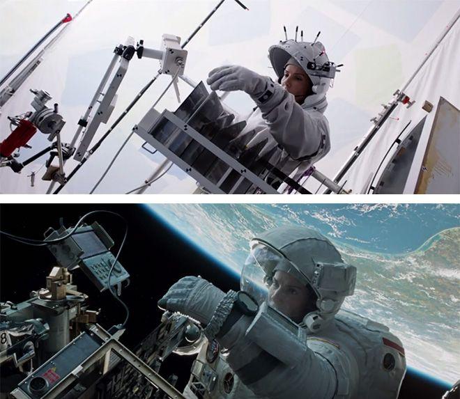 gravity behind the scenes