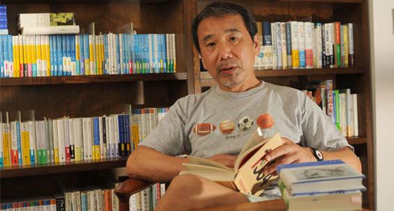 murakami leyendo