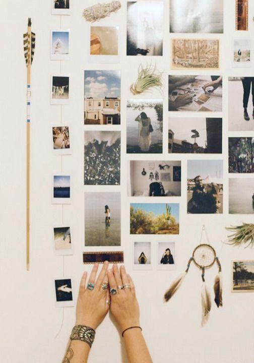 pared de fotos