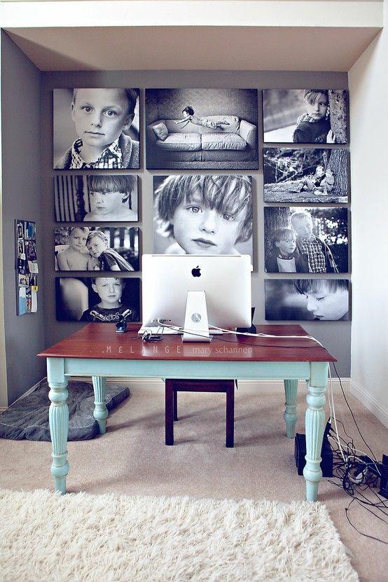 pared fotos grandes