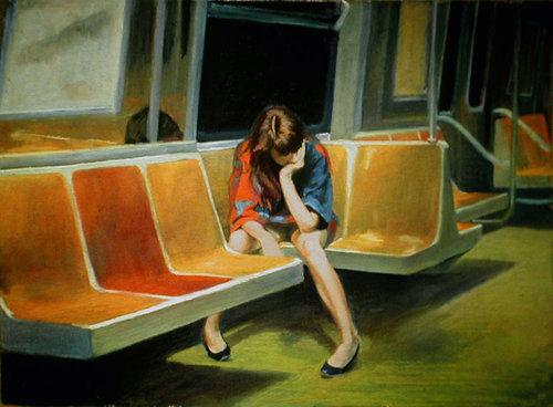 Mujer solitaria  / sentirse solo