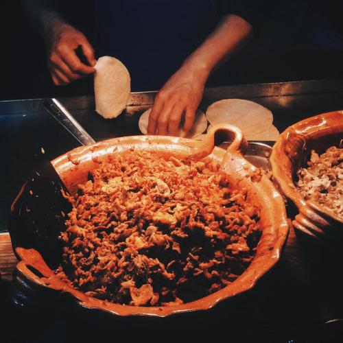 tacos cazuelas