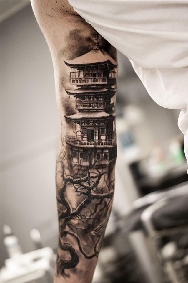 Diseos de tatuajes de manga que desears Diseo
