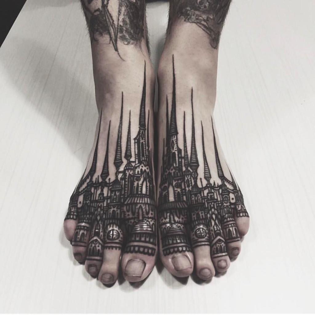 Tatuajes Ideales Para Los Pies Diseño Diseño