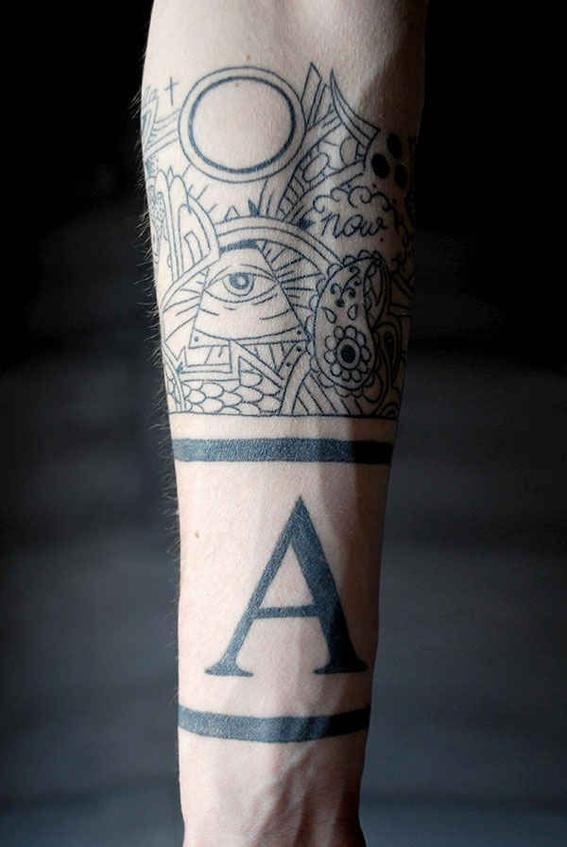 Tipografias tatuaje