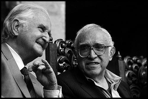 Carlos Fuentes y Monsiváis