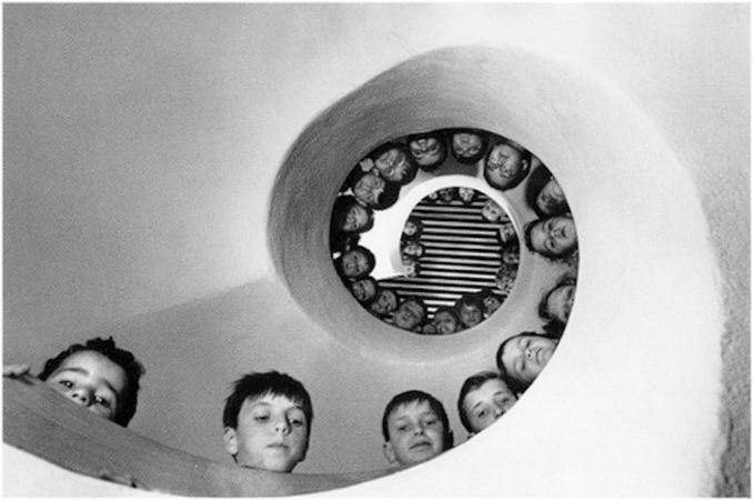 Cartier Bresson escaleras