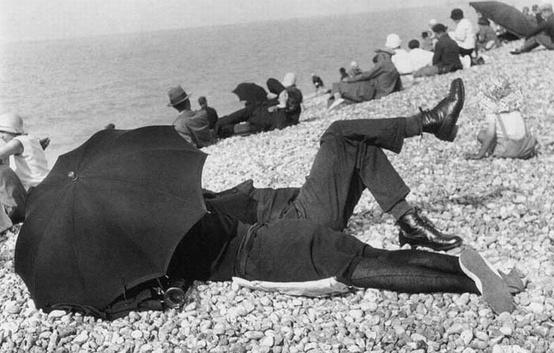 Cartier Bresson paraguas