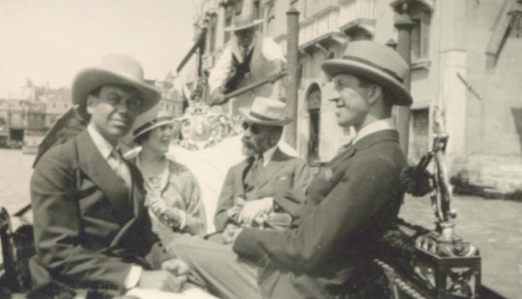 Cole Porter, Linda Lee Thomas, Bernard Berenson, e Howard Sturges
