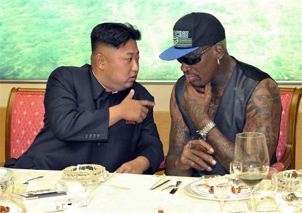Denis Rodman Kim Jong