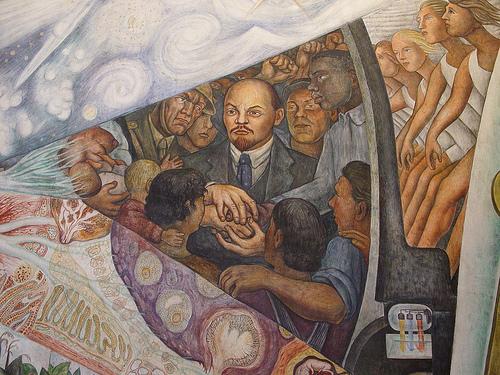 Diego Rivera. Lenin