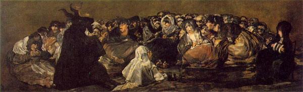 El aquelarre Goya morfologias