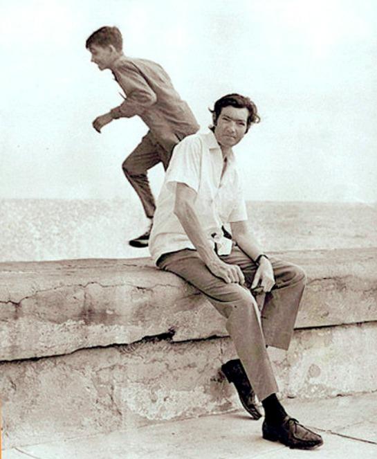 Foto de Julio Cortázar en La Habana, 1966