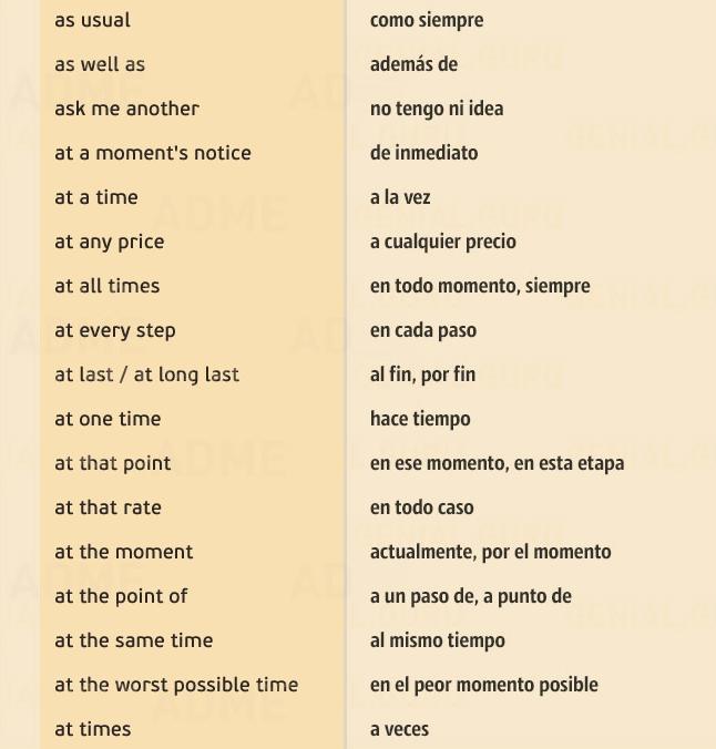 M s de 150 frases en ingl s que te salvar n la vida for Expresiones cortas