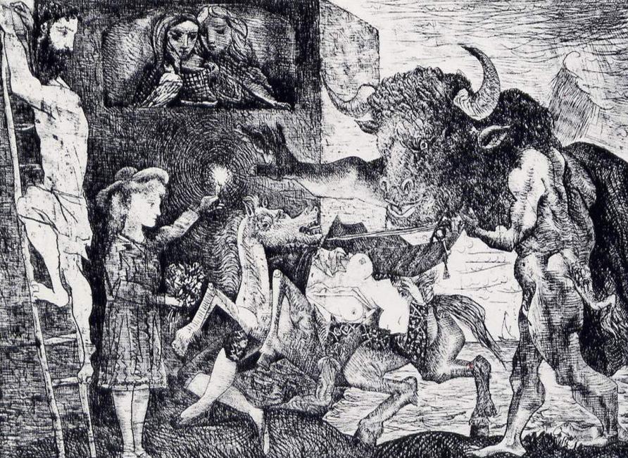 La minotauromaquia