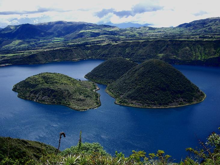 Laguna de Cuicocha, Ecuador