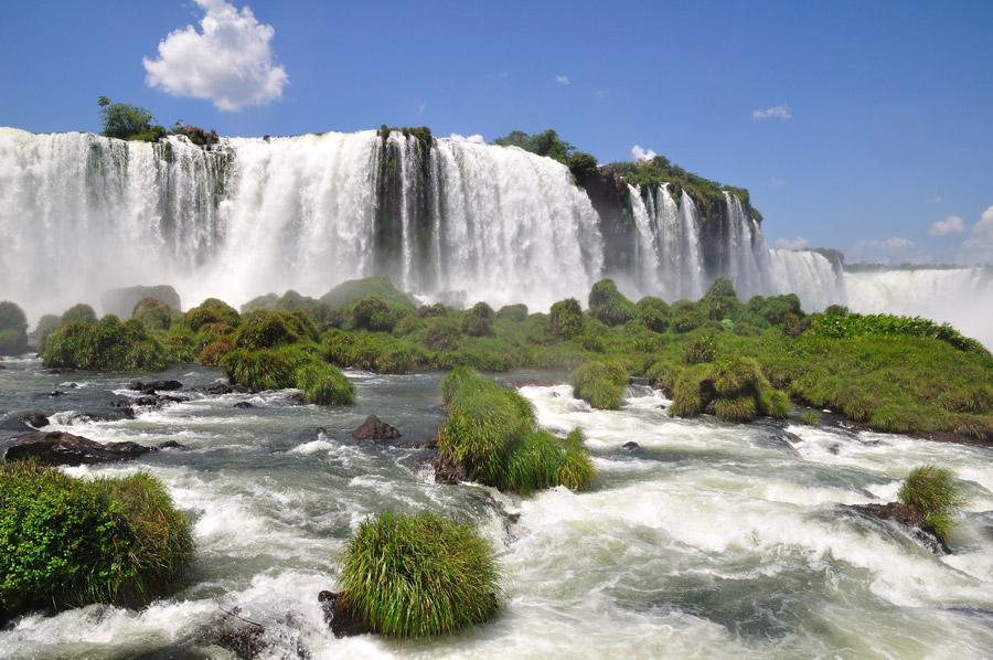 Las Cataratas de Iguazú, Brasil