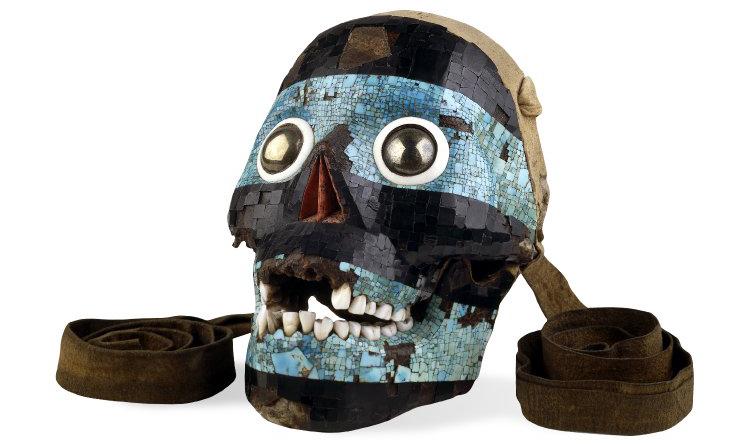 Mascara de tezcatlipoca