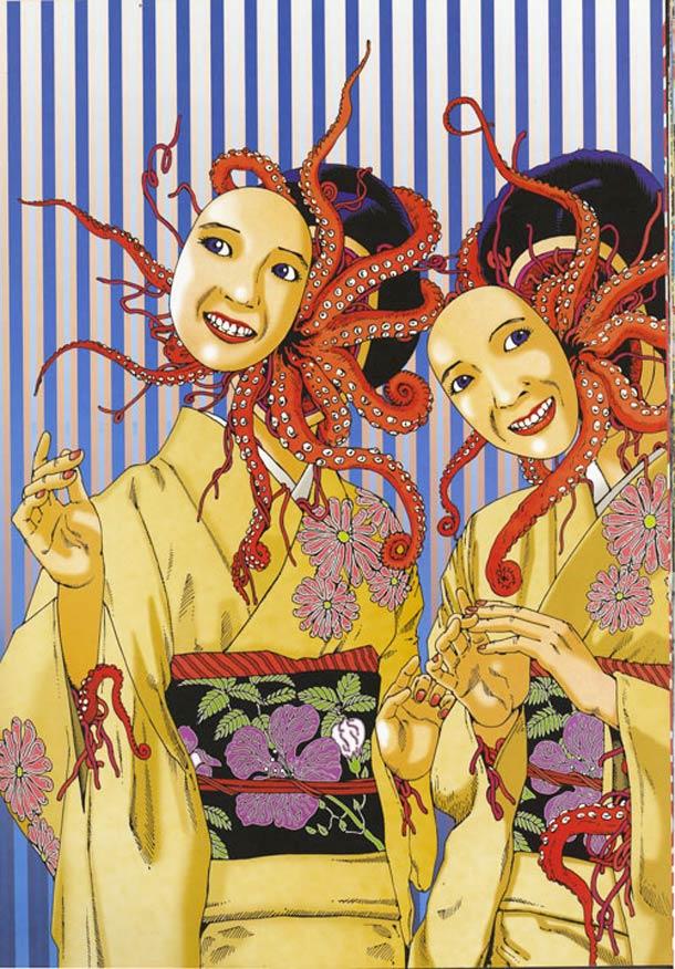 Mascaras Shintaro Kago