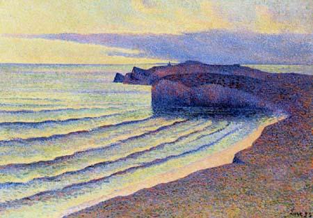Maximilien Luce, Costa del Mar en Normandía