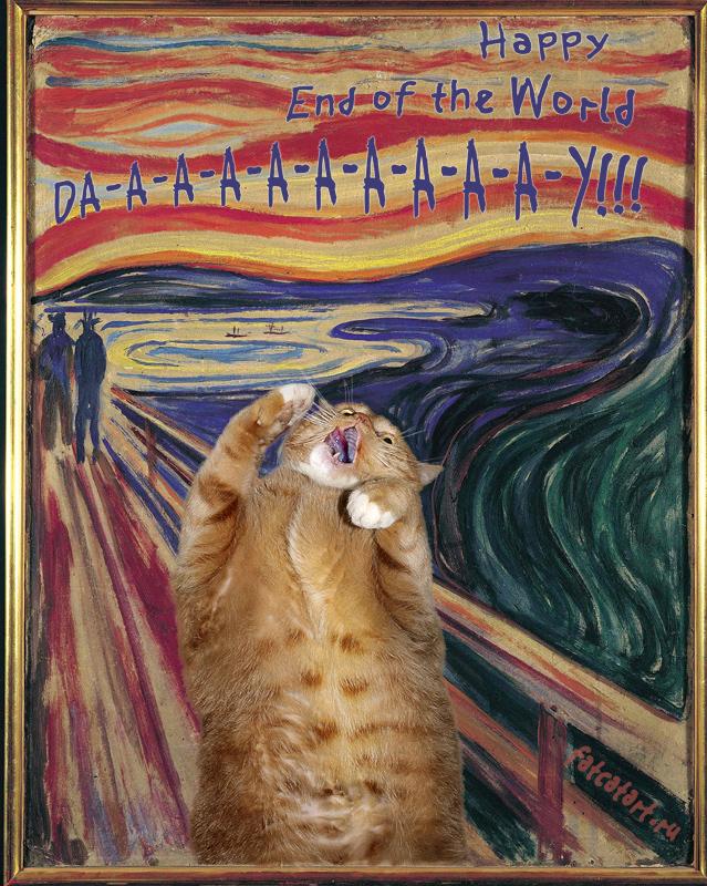 Edvard Munch, The Scream. Happy End of the World Da-a-a-a-a-a-y!