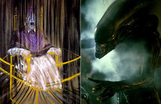 Obras de arte Alien