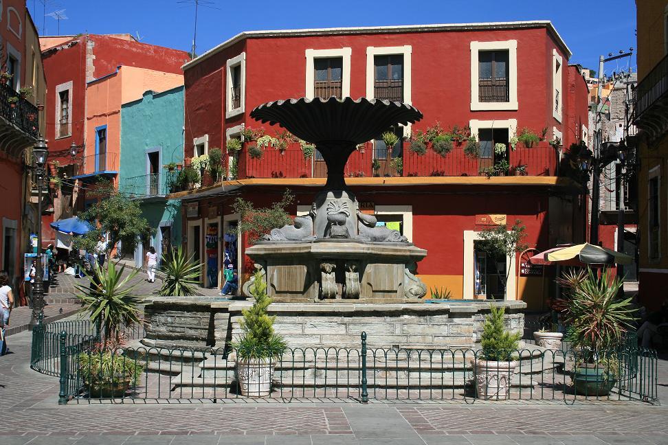 Plazuela del Baratillo Guanajuato
