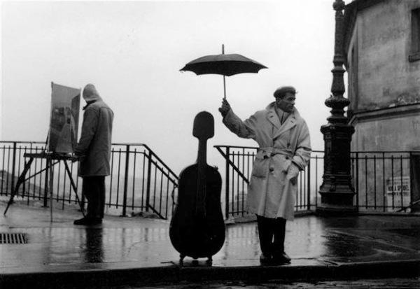 Robert Doisneau violin