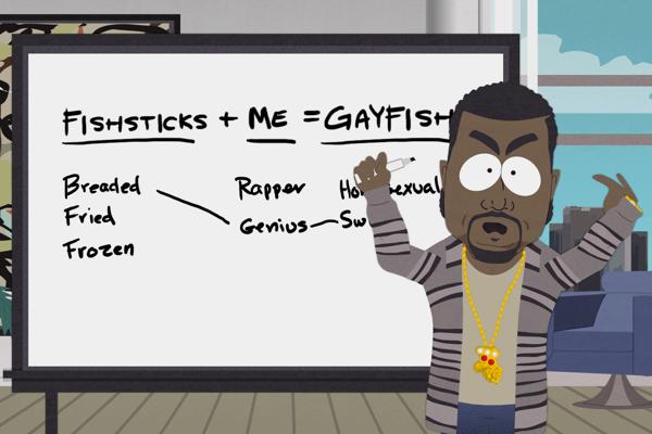 South Park Kanye West
