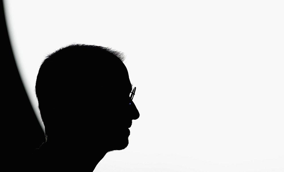 Steve Jobs silueta