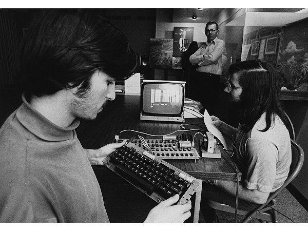 Steve Jobs y Stephen Wozniak