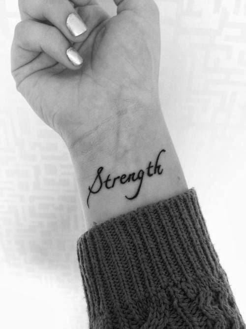Strenght tatoo
