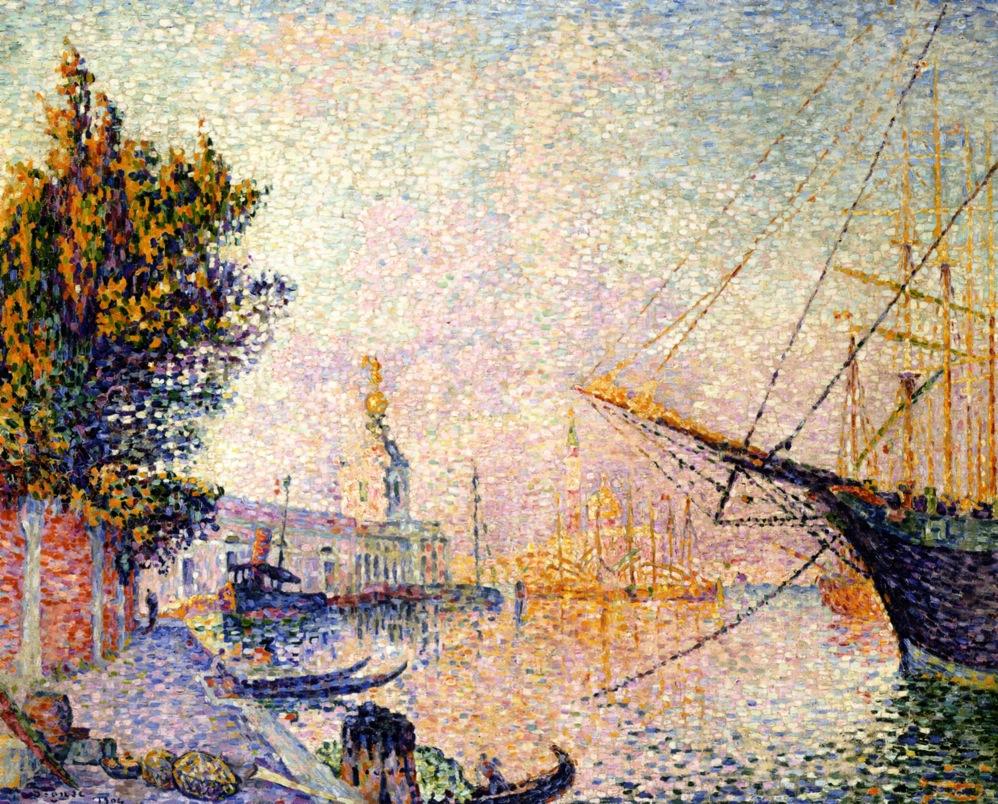 The Dogana Paul Signac