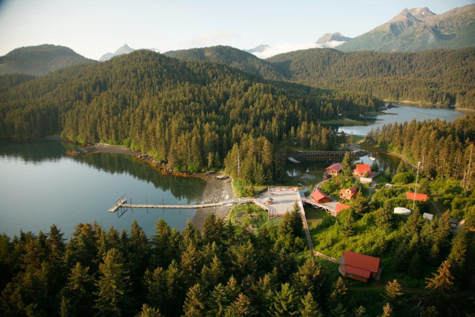 Tutka Bay Lodge destinos