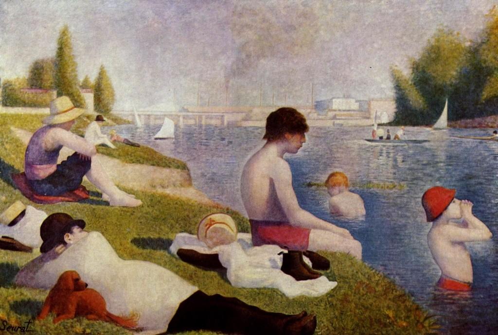 Un bano en Asnieres Georges Seurat