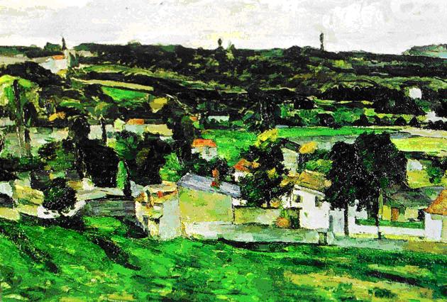 View of Auvers-sur-Oise