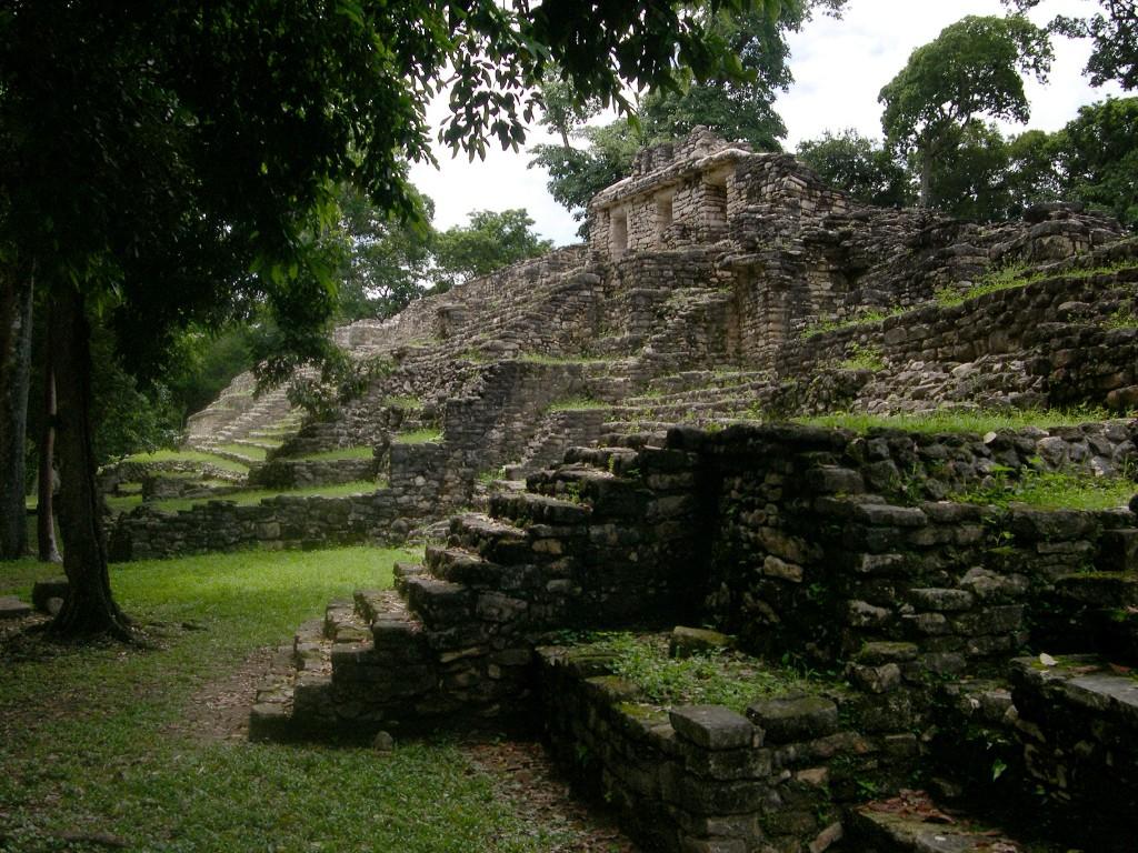 Yaxchilán, México