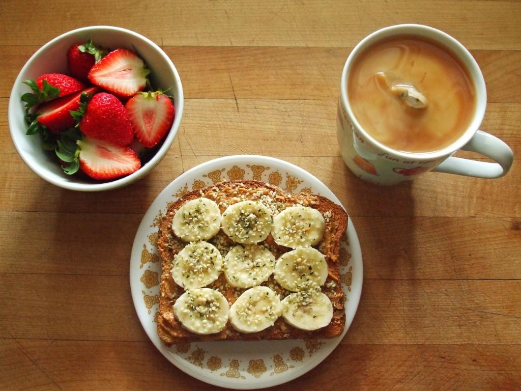 banana toast recetas rápidas