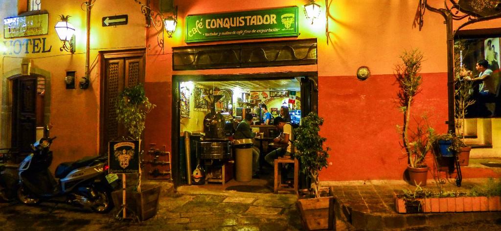 cafe conquistador Guanajuato