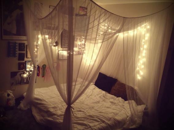cama departamento de soltera